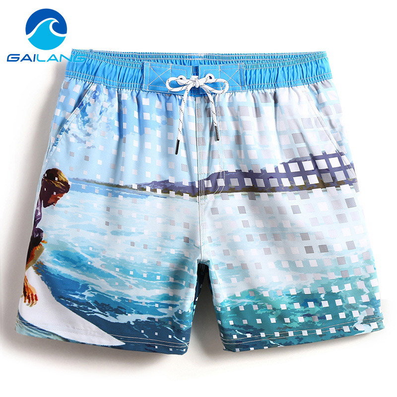 Board Shorts Gailang Brand 2018 New Men Beach Shorts Trunks Mens Swimwear Swimsuits Short Bottoms Boardshorts Bermudas Masculina De Marca Products Are Sold Without Limitations