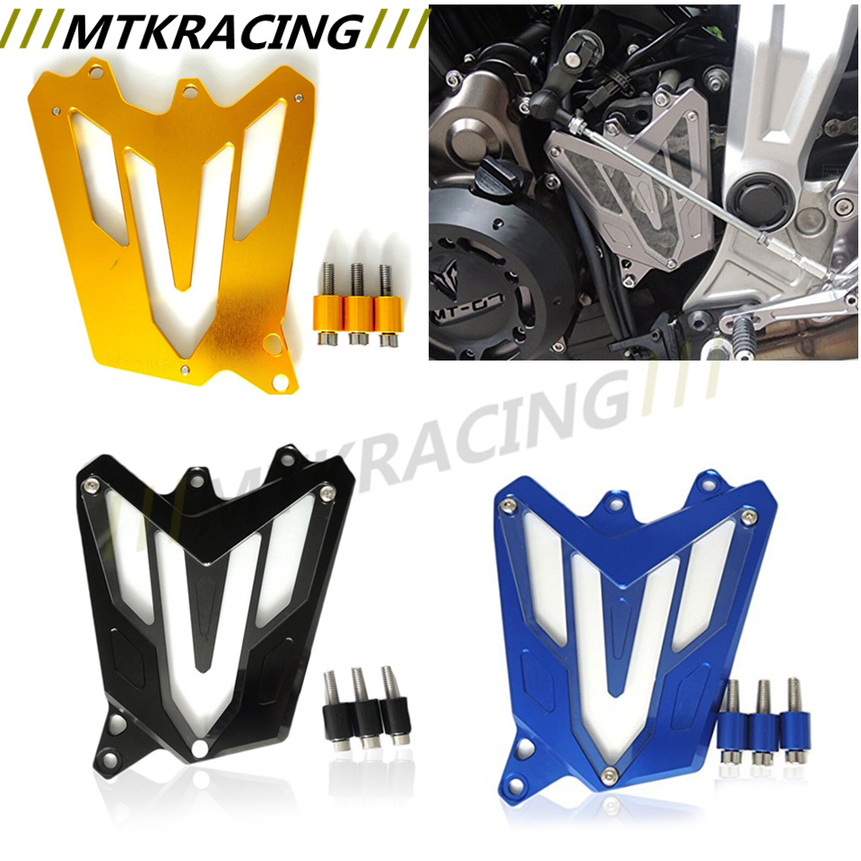 Подробнее о CNC Aluminum Front Sprocket Chain Guard Cover Left Side Engine For YAMAHA MT7 MT07 MT-07 FZ-07 FZ07 RM04 2014 2015 2016 for yamaha mt07 fz07 mt 07 fz 07 2014 2015 motorcycle cnc billet aluminum front fork cover caps free shipping
