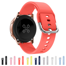 New 20mm Sports Smart Watch Band For Samsung Gear S2 Accessories Tabby Silicone Belt