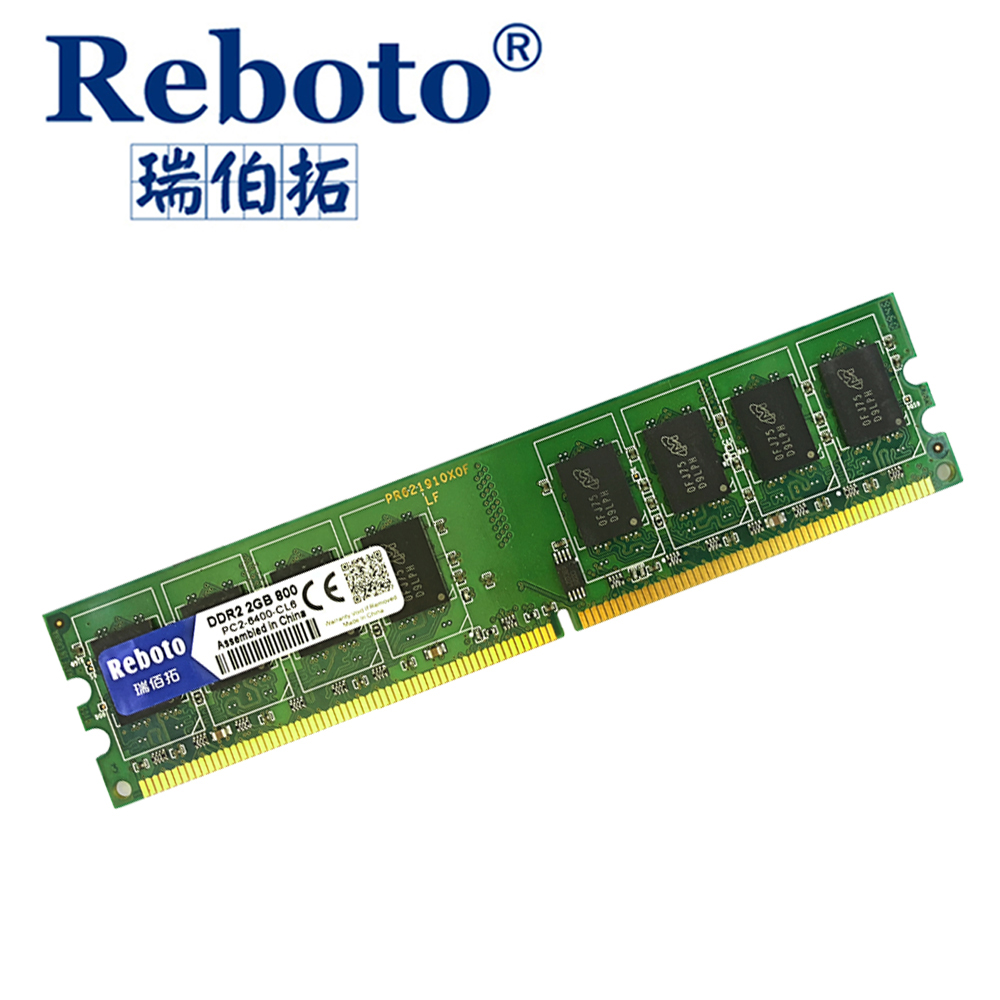 Reboto Ddr2 2gb Ram 800mhz Pc2 6400 667mhz For Desktop Computer Memory 4gb Ddr3 Pc12800 Elpida Compatible With All Motherboards 18v In Rams From Office On