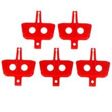 5 шт./лот гидравлические дисковые Тормозные колодки прокладка Instert велосипедная Тормозная прокладка дисковые тормоза MTB части велосипеда Тормозная прокладка