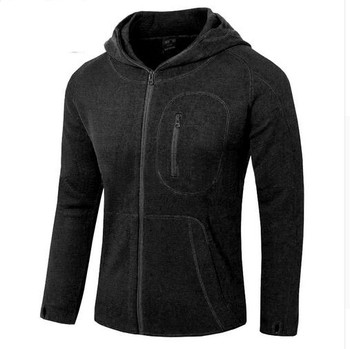 Marka męski kardigan sweter z wełny polar softshell kobiety Outdoor bluzka kaszmir taktyczna wojskowa wędkarstwo trekking turystyka z kapturem tanie i dobre opinie other Pasuje prawda na wymiar weź swój normalny rozmiar