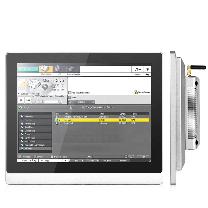 multi touch screen 19 polegada computador industrial toque pc tudo em um