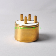 1pc Ceramic vacuum Base 4Pin Tube Socket Gold Plated J212 Audio Hifi DIY Parts