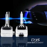 Auto Car Headlights Replacement D3S HID Xenon Bulb Lamp 4300k 5000K 6000k 8000K 12000K Super Bright