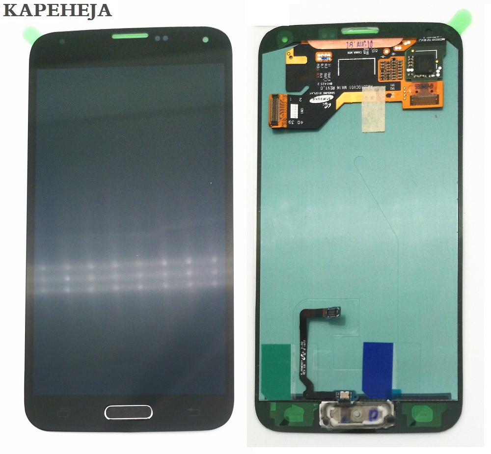 Super AMOLED LCD <font><b>Display</b></font> For <font><b>Samsung</b></font> Galaxy S5 G900 <font><b>G900F</b></font> G900H G900A G900T G900I LCD <font><b>Display</b></font> Touch Screen Digitizer Assembly image