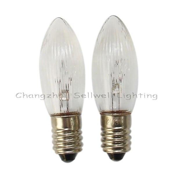 Miniature Lamp Bulbs Lighting E10 14x45 12v 3w 10pcs A144