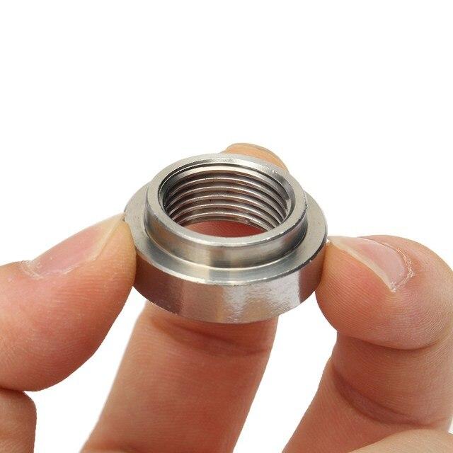 430 ze stali nierdzewnej m18x1, 5mm O2 czujnik tlenu wydech Lambda baza nakrętka Weld-on
