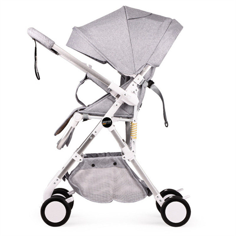 Two-way Baby Stroller for Newborn Lightweight Portable Travelling Pram Pushchair Folding Baby Carriage newborn strollers high lightweight pram dropshipping wholesale portable baby top stroller carriage strollers fashion pushchair
