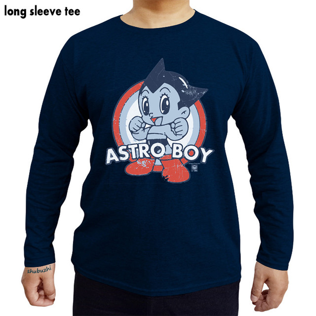 98f9a5ee Astro Boy Target Licensed Adult Graphic Tee Shirt men cotton tees brand boy  gift tee long sleeve male tshirt