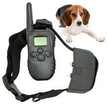 Nueva Llegada a Prueba de agua Ajustable Ningún Choque 998D Collar de Perro Electrónico de Control Remoto Entrenamiento Del Animal Doméstico Con la Exhibición del LCD