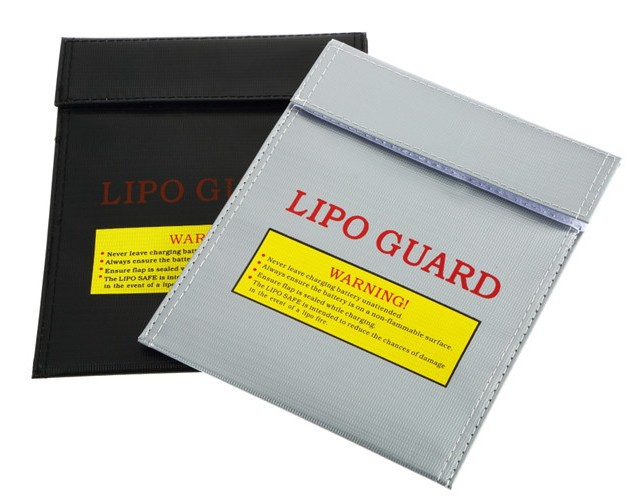 LiPo RC Battery Safe Guard bag Charging Sack save pack 18cm x 23cm