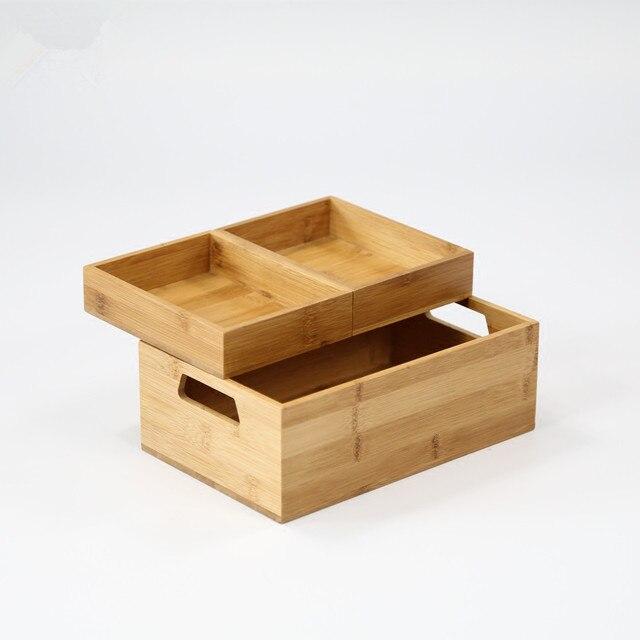 Bambus Wasserdicht Bad Tisch Veranstalter Kurze Design Buro Datei
