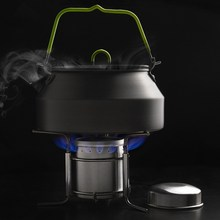 1 PC Portable Outdoor Stoves Stainless Steel Mini Ultra-light Spirit Burner Alcohol Stove Camping Stove Furnace   T20