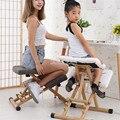 Новое домашнее мягкое сиденье для взрослых студентов  эргономичное кресло  детское сидение без рукавов  коррекция осанки  стул на коленях