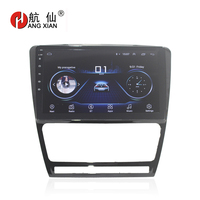 HANG XIAN 10.1 Quadcore Android 8.1 Car radio for SKODA OCTAVIA 2010 2015 car dvd player GPS navi bluetooth wifi steering wheel