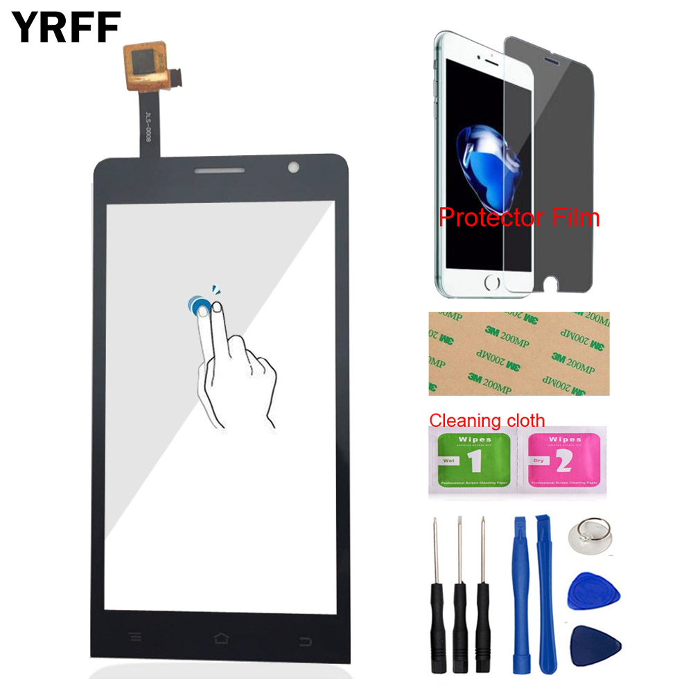 5.0 Inch Mobile Touch Screen Digitizer Panel For Ark Benefit M3S Front Glass Capacitive Sensor Touchscreen Panel Protector Film