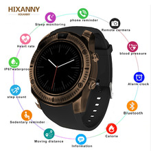 Newest Vintage Bluetooth Wrist Smart Watch KY003 For iPhone Android Phone Support SIM TF Card smartwatch Wristwatch Reloj Hombre