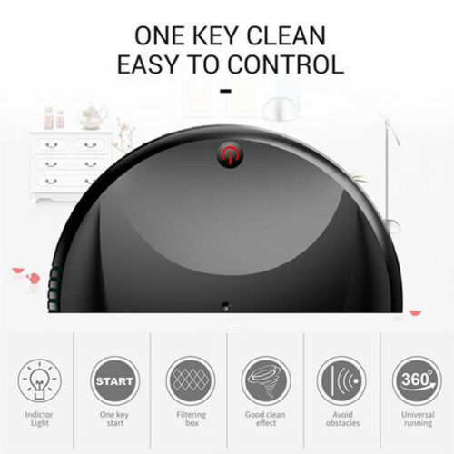 Automatic Rechargeable Strong Suction Sweeping Smart Clean Robot 3