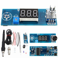 Hot DIY Electric Unit High Quality Basic Ability PracticalDigital Soldering Iron Station Temperature Controller Kits T12