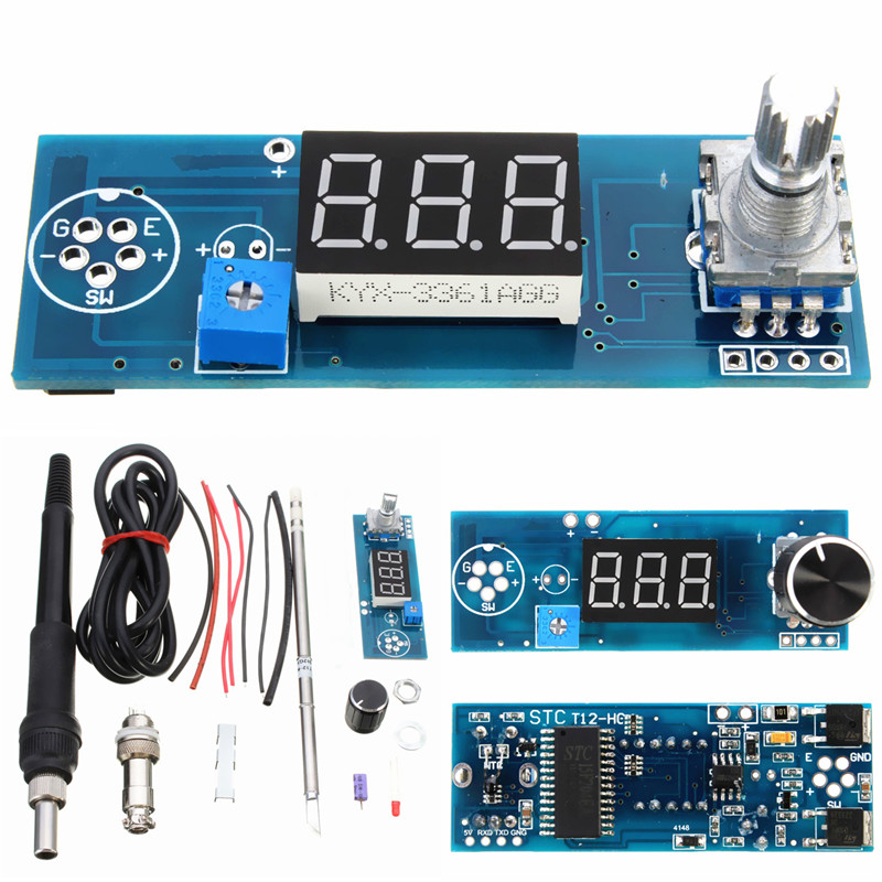 Hot DIY Electric Unit High quality Basic Ability Practical Digital Soldering Iron Station Temperature Controller Kits