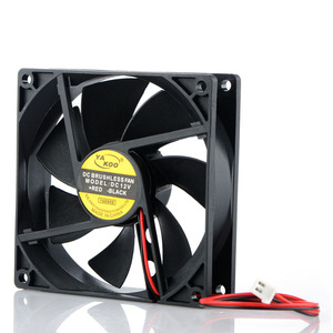 Image 2 - 2 Pin 12V 90*90*25mm Laptops Replacement Accessories Cooling Fans For Notebook Computer Cooler Fans P0.11