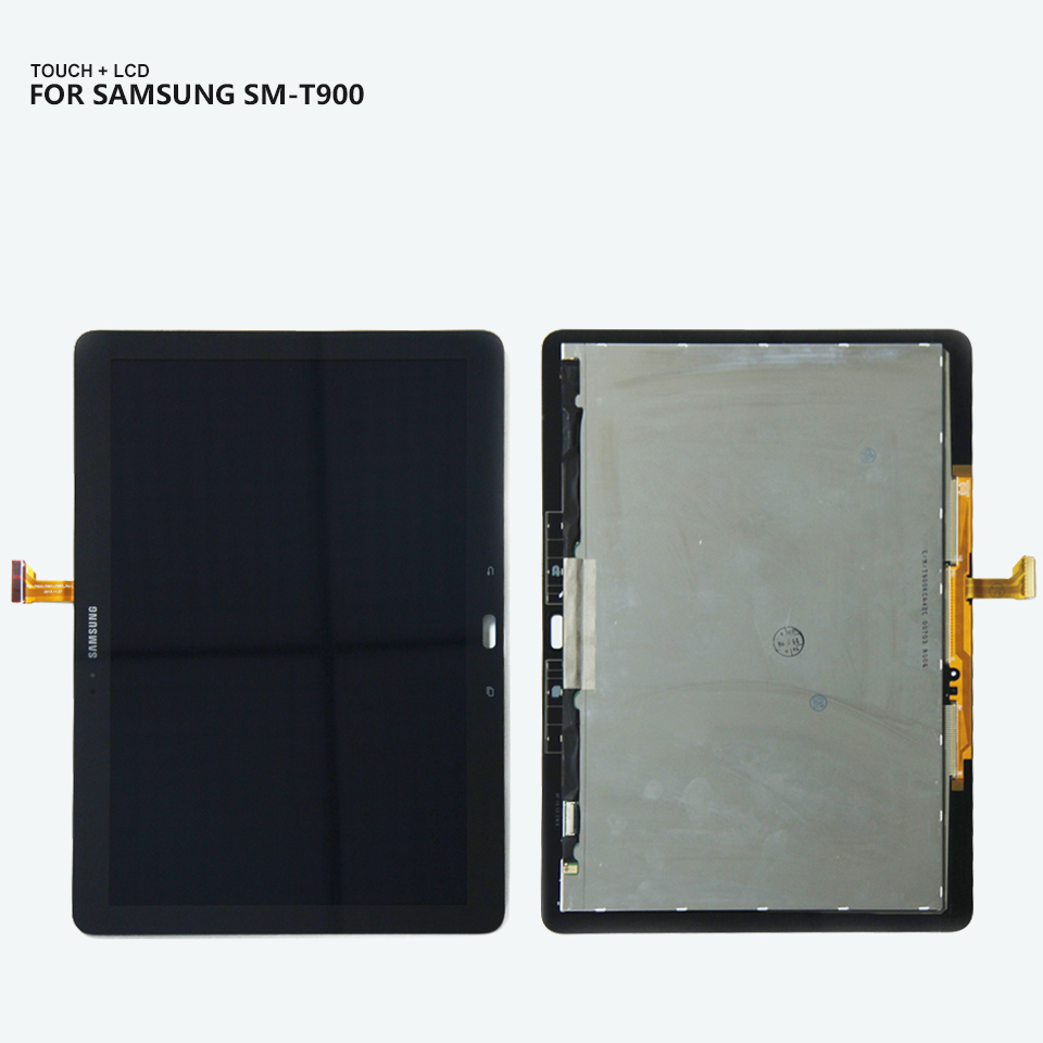 For Samsung GALAXY Tab Pro T900 SM-T900 P900 SM-P900 Panel LCD Combo Touch Screen Digitizer Glass LCD Display Assembly Parts panel lcd combo touch screen digitizer glass lcd display assembly for samsung galaxy tab 2 p5100 accessories parts free tool