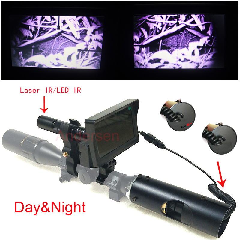 Hot Selling Outdoor Hunting optics Tactical digital Laser Sight Infrared night vision use in day and night hot selling upgrade outdoor hunting optics sight tactical digital infrared night vision riflescope use in day and night