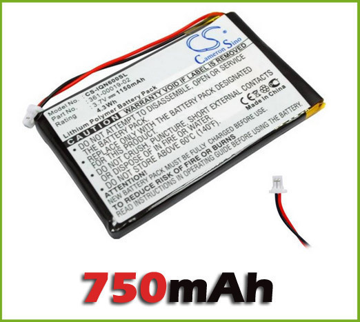 NEW Battery Garmin Nuvi 600 610T 650 660 FM 670 680 GPS 3.7 1150mAh 361-00019-02