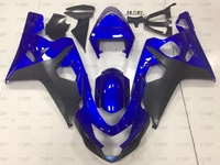 GSXR 750 2005 Обтекатели GSX R750 2004 2005 K4 детали корпуса синие, черные для Suzuki GSXR750 05 обтекатель