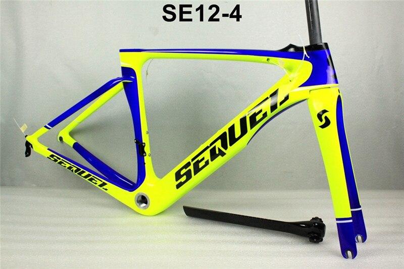 SEQUEL Brand 2017 carbon road frame carbon bike frame aero road bicycle frame bicicleta telaio bici da corsa carbonio frame стоимость