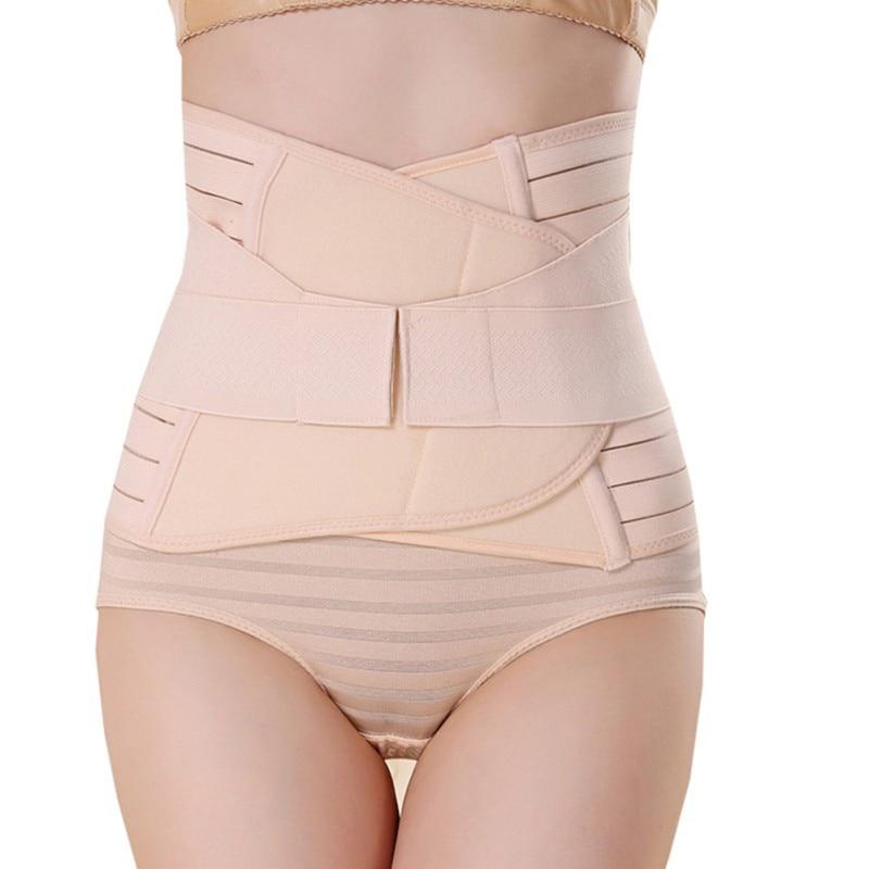 Mujeres transpirable soporte Lumbar cinturón tirantes cintura tratamiento de hernia de disco Lumbar madera tensión muscular nuevo