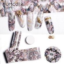 Nails Art Sticker fashion 3D Shell star stickers women manic