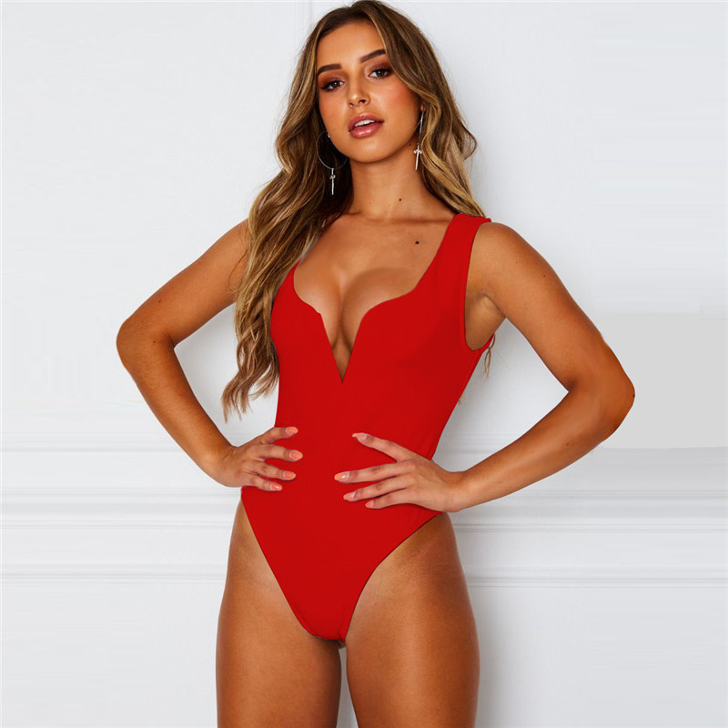 v neck bodysuit women07