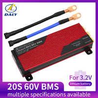 Daly 20S BMS 60V LiFePO4 система управления батареей BMS 80A 100A 120A 150A 200A с высоким током для литиевой батареи