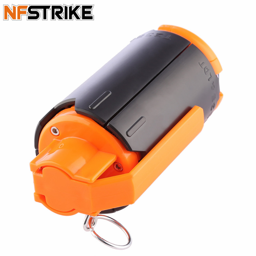NFstrike Tactical Plastic Modified Crystal Water Beads Bomb Crystal Water Bullet Bomb - Black + Orange Support dropshippimg джемперы mango джемпер pato
