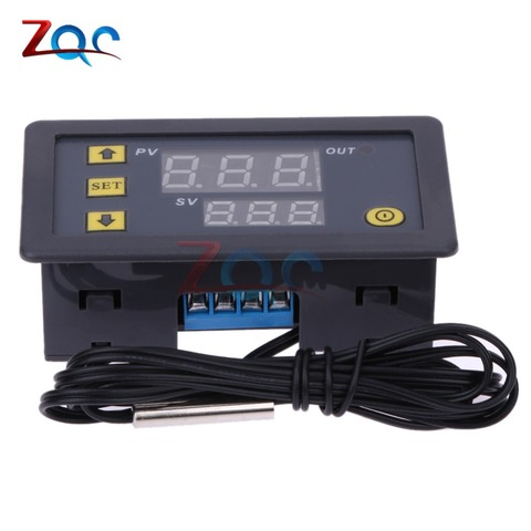 W3230 DC 12V AC 110V 220V 20A LED Digital Temperature Controller Thermostat Thermometer Temperature Control Switch Sensor Meter Islamabad