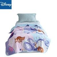 sofia princess thin comforter disney 3d Cartoon summer quilt cotton cover children bedroom decor soft blanket kid 200x230