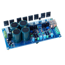 300W+300W Fully Symmetric Double Differential High Power Amplifier Board Finished
