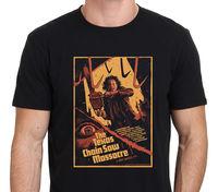 New 2017 Men S Cute The Texas Chainsaw Massacre Horror Movie Poster Design T Shirt Cool