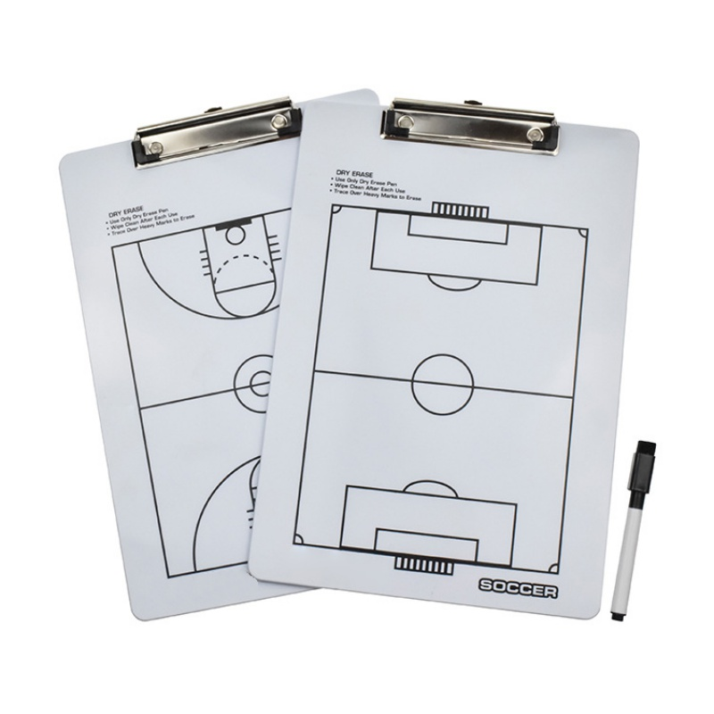 Magnetic Football Coaching Board Tactics Board Soccer Tactics Plate Whiteboard Marker Basketball Tactic Board