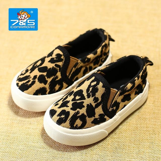 25cd54e4d6e5 kids shoes leopard print canvas shoes baby boys plimsolls spring and autumn  children sports casual shoes