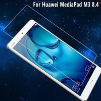 100% hohe Qualität Klar Explosion-proof Screen Protector für Huawei MediaPad M3 9HD Gehärtetem Glas für Huawei MediaPad M3 8 4