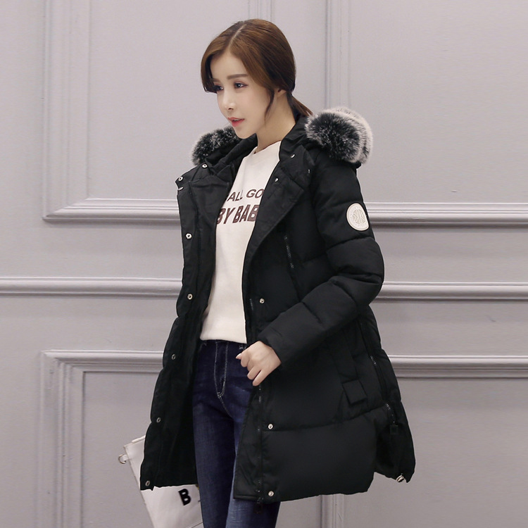 2017 New Winter Warm Clothes for Pregnant Women Soft Fur Collar Pockets Padded Coats Jackets for Pregnancy Maternity Coat Jacket цены онлайн