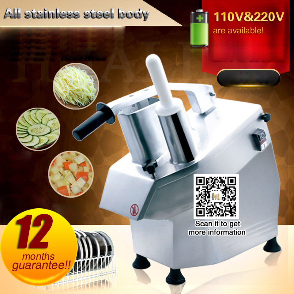 Electric Vegetable Chopper Meat Slicer Vegetable Cutter Come With 4 Blades