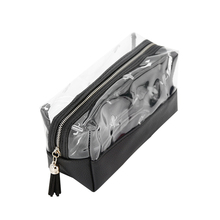Yesello Clear Waterproof PVC Cosmetic Bags Portable Travel Pouch