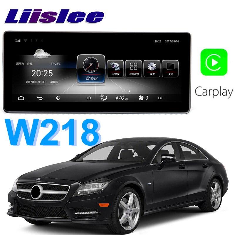 Liislee Voiture Lecteur Multimédia NAVI Pour Mercedes Benz MB CLS Classe W218 CLS350 CLS250 2011 ~ 2014 Voiture Radio Stéréo GPS Navigation
