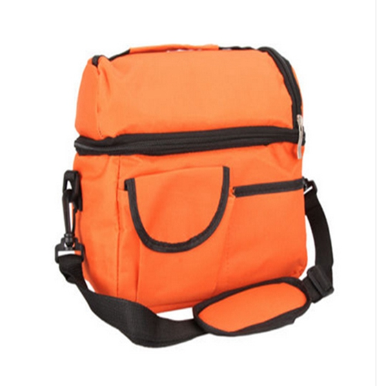 Woman/Men bags insulated cooler bag lunch changing storage foldable picnic cooler/travel/clutch bag ...