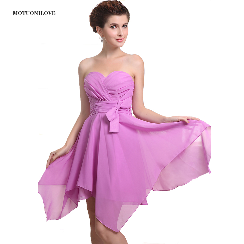 New Fashion Short Graduation Dresses 2019 Asymmetrical Skirt Mini Homecoming Dress Cocktail Party Gown Cute 8th Grade Prom Dress