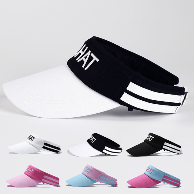 4f40ad8f9d6 Unisex Summer Women Men Kmqhat Print Sport Headband Classic Sun Sports Visor  Hat Cap Cap Hat For Woman men  7